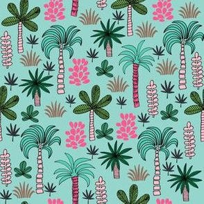 SMALLER  palms fabric // palm tree palms palm tree fabric tropical fabric tropical design tropical fabrics plants fabric andrea lauren