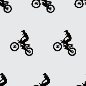 pop a wheelie motocross bike