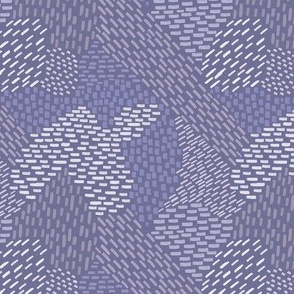 abstract brush strokes smokey lavender