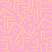 MAZE PINK AND YELLOW