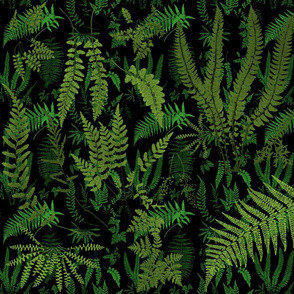 Fern Botanical ~ Deep Nightshade