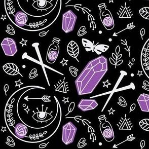 Purple Mystic Knitter