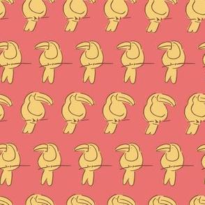 Tucans in a row