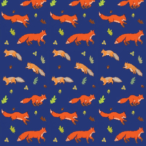 Foxes and squirrels