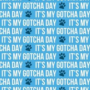 It's my gotcha day - blue - LAD19
