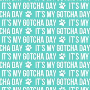 It's my gotcha day - teal - LAD19