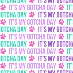 It's my gotcha day - multi - LAD19