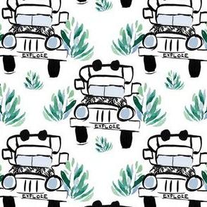 "4"" Explore Truck"