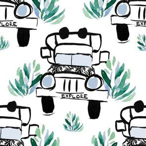"8"" Explore Truck"
