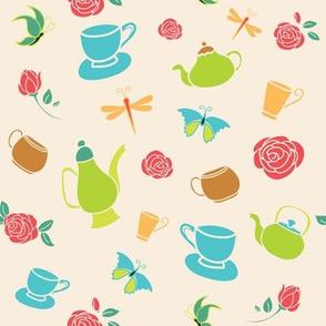 Yellow Garden Tea Party