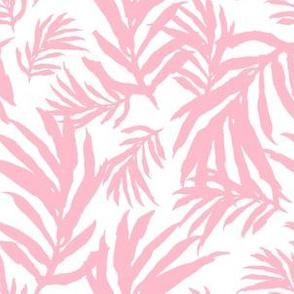 "6"" Pink Leaves"