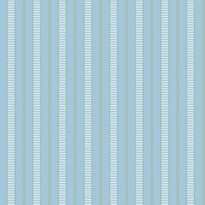Victorian Stripe_Blue-Green by Paducaru