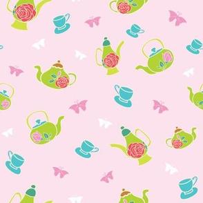 Light Pink Garden Tea Party