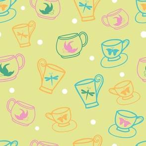 Spring Green Garden Tea Party