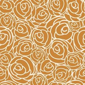 Orange Garden Floral Bouquet