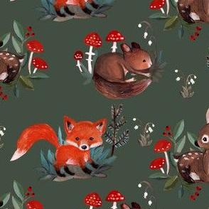 baby woodland first version