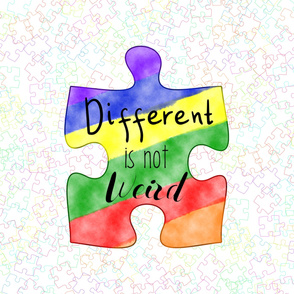 different is not weird 2 yard blanket topper 54 wide fabric