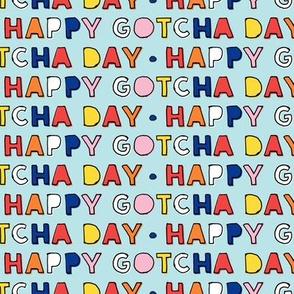 Happy Gotcha Day! - blue - LAD19