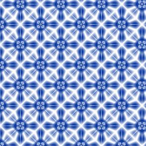 Shibori Star (indigo)
