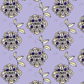 jewel tone bloom -lavender