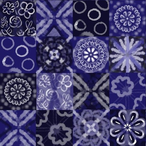 Shibori Fleuri Quilt