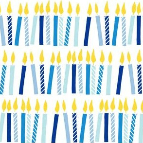 candles - birthday - celebration - blues - LAD19