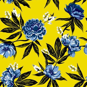 Garden Floral - Yellow