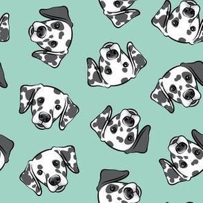 Dalmatians - mint - LAD19