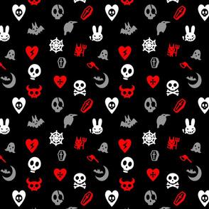 Cute Skulls, Goth Hearts & Bad Bunnies