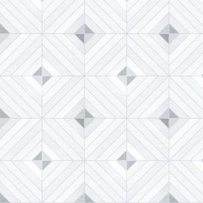 Grey neutral diamond triangular linear shapes