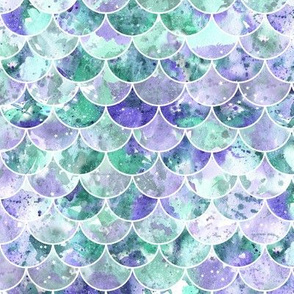 Purple and Green scales