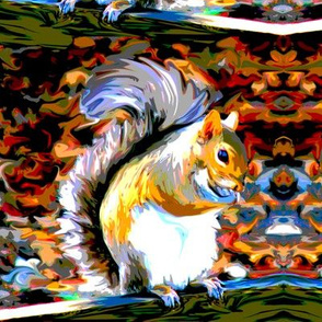 Paint By Numbers Squirrels
