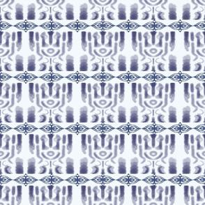 Indigo Tie-dye Shibori #2-Blue