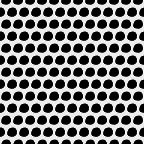 Black and White Blobs