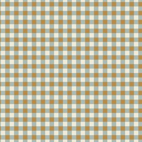 Kitchen Gingham Fawn