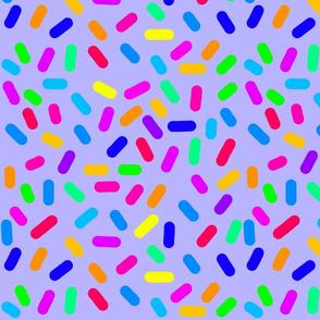 Rainbow Ticker Tape - Lavender blue