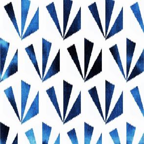 shibori hex tile