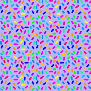 Rainbow Ticker Tape - Lavender blue (half size)