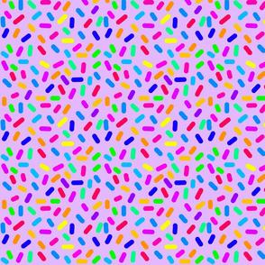 Rainbow Ticker Tape - purple (half size)