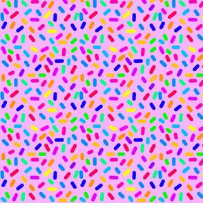 Rainbow Ticker Tape - violet pink (half size)