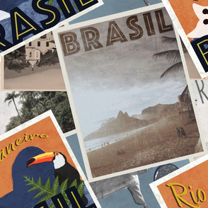 Rio Retro Postcards