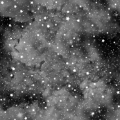 Starry night black grey