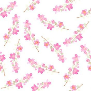Watercolor Floral Pattern.