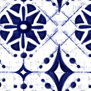 Athene Shibori Geometric - Large Scale
