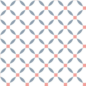 basic curved lattice blue pink