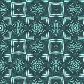 Cornered Arrows, Emerald Green