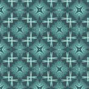 Crossover Corners Star Burst, Emerald