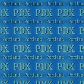 PDX Carpet Text
