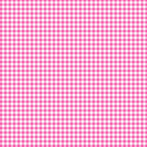 Pink Gingham Check  small