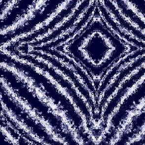 Shibori dark diamonds
